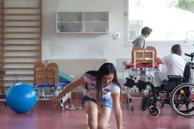 Parcours de rééducation au service pédiatrie