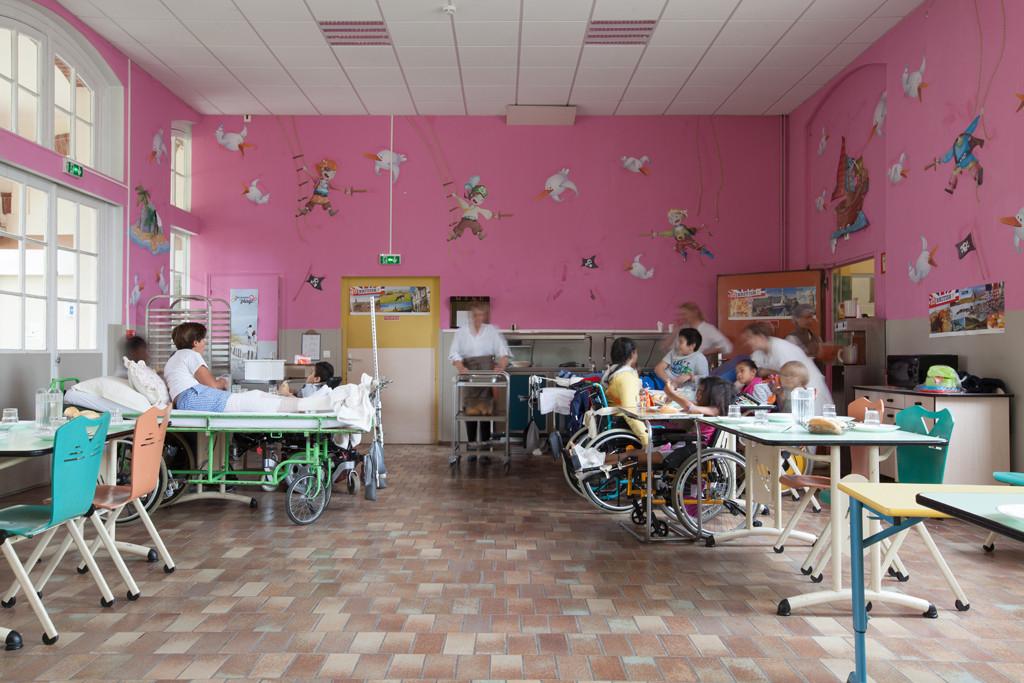 Salle à manger du service pédiatrie