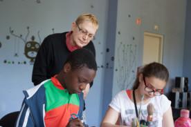 Atelier éducatif pour adolescents