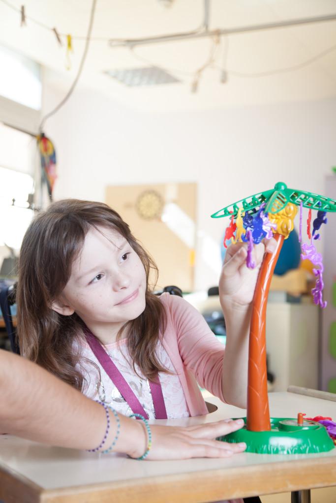 Séance d'ergothérapie pour enfant