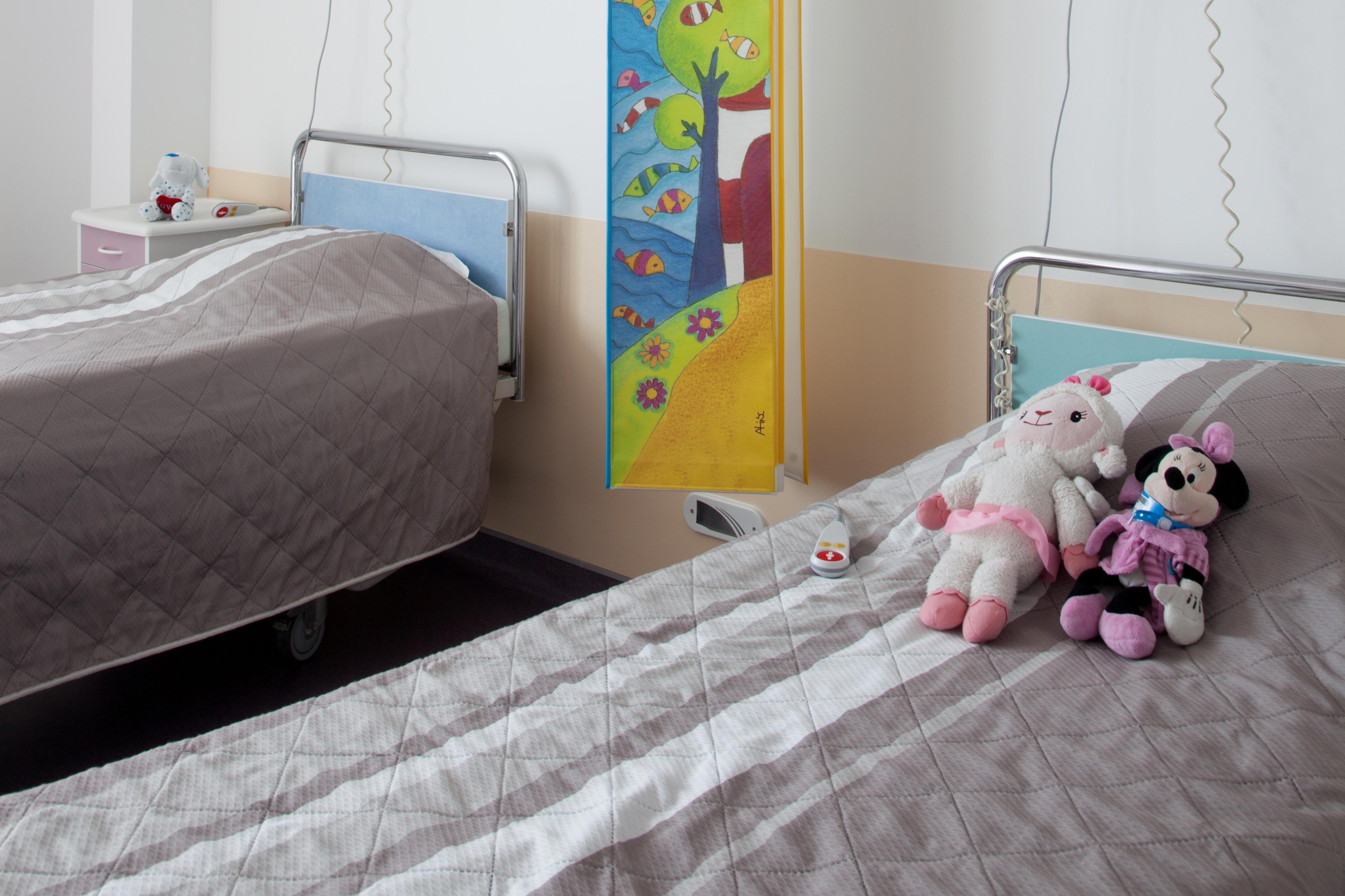 Chambre double secteur pédiatrique